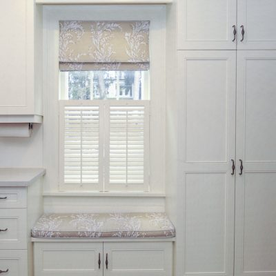 NOTL - Clean, white cabinets